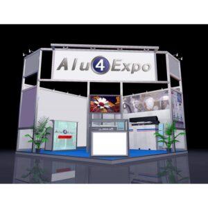 Profili alluminio Expo system ALU4Expo